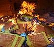 Cách phòng chống cháy nổ khi thắp hương, đốt vàng mã tại gia đình
