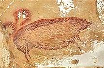Phát hiện thấy bức tranh vẽ con vật lâu đời nhất thế giới