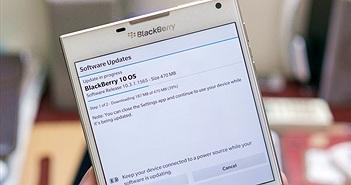 Đã có BlackBerry OS 10.3.1, mời anh em tải về ngay!