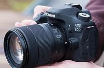 Cận cảnh máy ảnh DSLR Canon EOS 80D vừa ra mắt