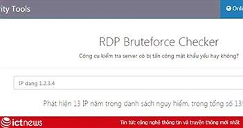 Bkav phát hành công cụ miễn phí giúp các quản trị viên kiểm tra độ an toàn của server