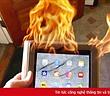 Một phụ nữ kiện Apple vì iPad bốc cháy và khiến người chồng tử vong