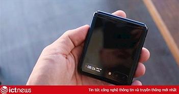 Mở hộp điện thoại gập Samsung Galaxy Z Flip tại Việt Nam: Nhỏ gọn, khác biệt