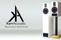 Từ monitor, Kerr Acoustic lấn sân sang đồ home, form dáng giống loa PMC
