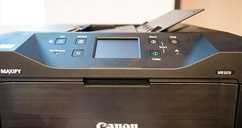 Canon giới thiệu máy in phun MAXIFY: tốc độ in nhanh phù hợp với văn phòng doanh nghiệp