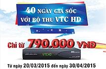 """Truyền hình VTC khuyến mãi 40 ngày giá """"sốc"""""""