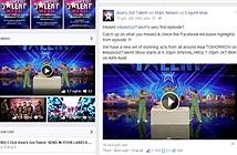 """""""Asia's Got Talent"""" có kênh giao lưu trực tiếp trên Facebook"""