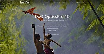 DxO cập nhật Optics Pro 10.4: Hỗ trợ Nikon D7200, Olympus E-M5 mark II và Canon EF 11-24mm f/4L