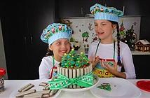 Bé 8 tuổi kiếm tiền tỷ nhờ đăng clip dạy làm bánh