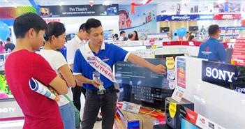 Thị trường điện máy Hà Nội tăng trưởng chậm so với các tỉnh