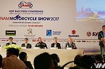 Triển lãm Mô tô xe máy Việt Nam 2017 chính thức mở cửa từ 4/5