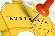 """Hệ thống GPS sai lệch vì châu Úc… """"biết bơi"""""""