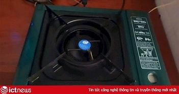 Game thủ Việt tận dụng bếp gas cũ làm máy tính độc đáo