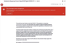 Google chặn 18 triệu email COVID-19 độc hại mỗi ngày