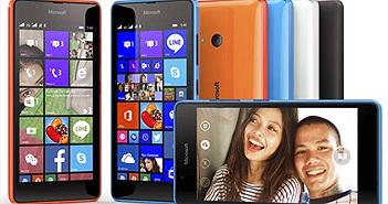Microsoft ra mắt smartphone Lumia 540 chuyên chụp selfie, giá 3.499.000 đồng