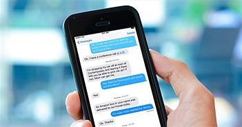 Nhà mạng ra khuyến cáo khách hàng sử dụng iPhone khi nhắn tin qua iMessage