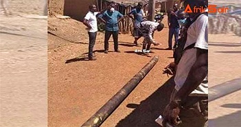 Mảnh vỡ tên lửa Trung Quốc rơi xuống ngôi làng châu Phi