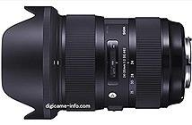 [Tin đồn] Rò rỉ hình ảnh thực tế của Sigma 24-35mm F2 DG HSM Art