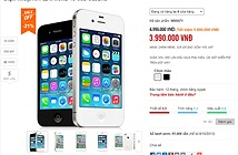 Nhiều đại lý hạ giá iPhone 4S 8 GB cả triệu đồng