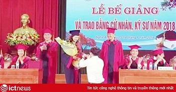 Clip: Màn quỳ gối cầu hôn của PBT đoàn trường trong ngày tốt nghiệp gây bão mạng
