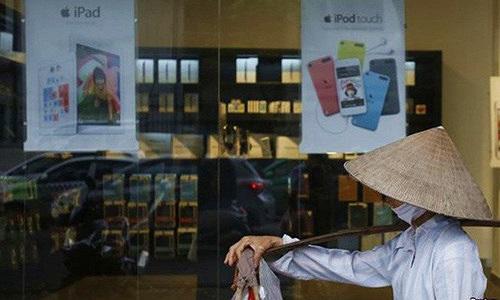 Apple Việt Nam thu hơn 500 triệu USD/năm nhờ điện thoại Iphone