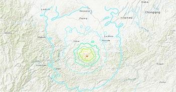 Động đất kép tấn công Tứ Xuyên, Trung Quốc, 12 người thiệt mạng
