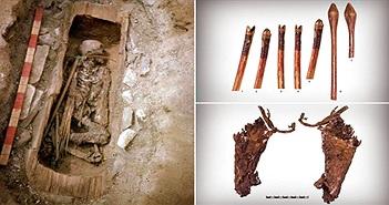"""Mộ cổ thiếu nữ 2.600 tuổi hé lộ về những """"chiến binh trinh nữ"""""""