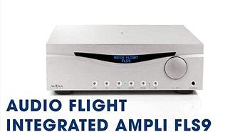Audia Flight FLS9 - Ampli hiếm dưới 10.000USD có thể chơi ổn định ở mức 2 ohm