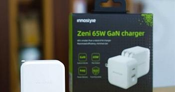Trên tay cục sạc Innostyle GaN Zeni 65W siêu nhỏ, giá hơn 1 triệu