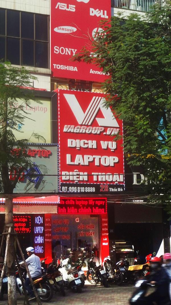 VAGROUP - Điểm thay thế linh kiện laptop uy tín