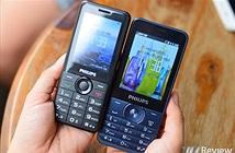 Cận cảnh 2 mẫu điện thoại cục gạch mới của Philips tại Việt Nam