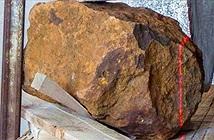 Thiên thạch hơn 30 kg rơi xuống vườn nhà dân
