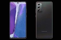 Rò rỉ toàn bộ thiết kế Samsung Galaxy Note 20