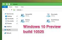 Mời tải về Windows 10 Preview build 10525: tùy chọn đổi màu tiêu đề cửa sổ, quản lý RAM tốt hơn