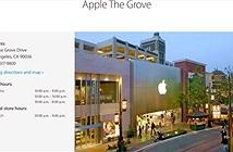 """Apple Store không còn được gọi là """"Store"""" nữa"""