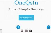 Tạo nhanh bảng thăm dò online trên di động