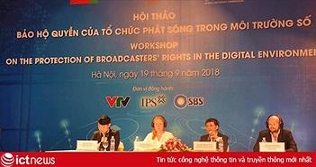 Các nhà sản xuất nội dung số phải tăng đầu tư để ngăn chặn vi phạm bản quyền