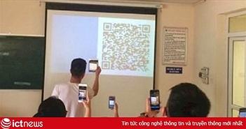 ĐH Luật điểm danh bằng mã QR, sinh viên chỉ có 60 giây báo danh