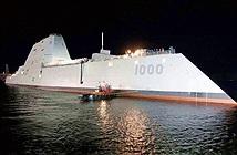 Khu trục hạm tàng hình Zumwalt Mỹ sống lại nhờ đạn siêu tốc