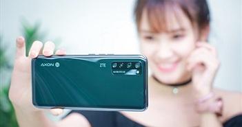 Trên tay ZTE Axon 20 5G tại Việt Nam: camera ẩn dưới màn hình, giá xách tay tầm 8 triệu