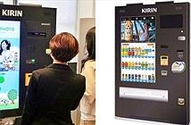 Nhật Bản: Máy bán nước kiêm... chụp ảnh selfie