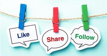 Phong trào like, share và hậu quả sống ảo