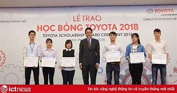 Toyota trao 115 suất học bổng cho sinh viên Việt Nam