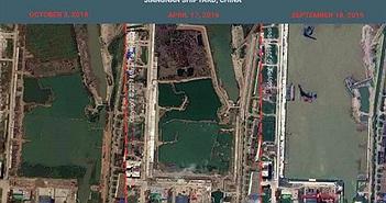 Bên trong xưởng đóng tàu sân bay bí mật của Trung Quốc có gì?