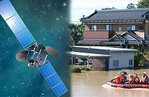 Nhật Bản dùng vệ tinh tìm, cứu người trong lũ lụt