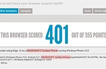 Xuất hiện những điểm đánh giá đầu tiên từ Surface Phone