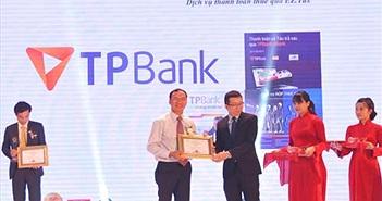 TPBank nhận cú đúp Giải thưởng Tin và Dùng Việt Nam 2015