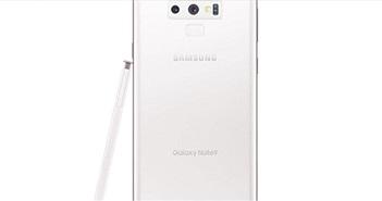 Galaxy Note 9 có thêm bản trắng tuyệt đẹp vào ngày 23/11