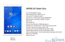 Sony sắp tung tablet cấu hình siêu khủng