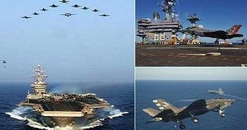Tàu sân bay Mỹ sẽ thống trị các đại dương với F-35C